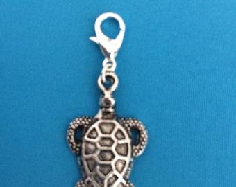 Sea Turtle Essential Oil Diffuser charm zipper pull