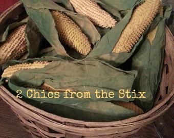 Corn on the cob E-PATTERN