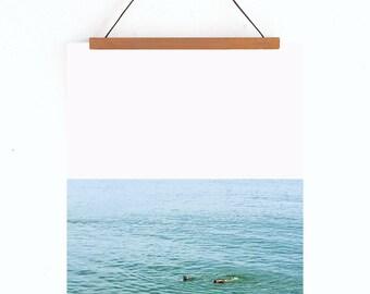 The Swim fine art print // 8x10 wall art // summer art print // ocean art work // coastal photography