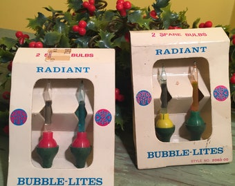 Choice of Miniature Bubble Light Replacement Bulbs