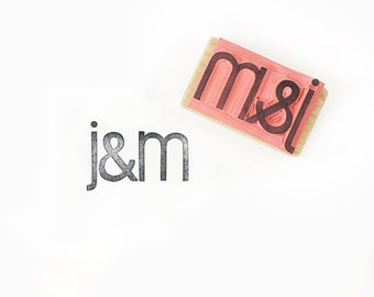 Custom wedding stamp, custom name stamp, save the date stamp, wedding invite, initials stamp, wedding gift, personalized stamp, gift for her