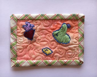 Froot Fabric Postcard