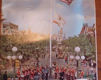 Disneyland Vacationland guide Fall 1964, Magic Kingdom, tourist brochures, 1960s theme parks, Disneyland ephemera, marketing brochures
