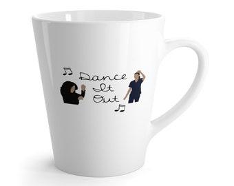 Dance It Out GreyS Anatomy Latte Mug