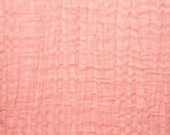 Swaddle Blanket- Coral Double Gauze - Coral/Pink Muslin Swaddle Baby Blankets