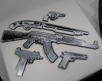 Guns (set of five)