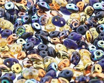 10/20g Matubo Superduo Notre Dame color beads  DU05MIX176 two hole beads Super Duo Czech beads 2.5x5 mm