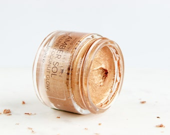 Amber Sol Shimmer | Bronze Body Shimmer | Natural and vegan
