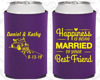 Violet Wedding, Violet Can Coolers, Violet Wedding Favors, Violet Wedding Gift, Violet Wedding Ideas (510)