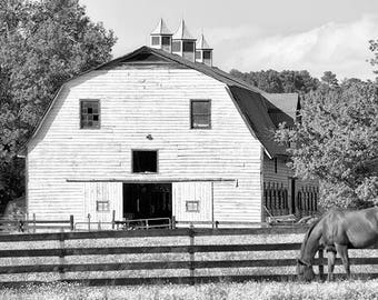 Barn Photograph, Canvas Wrap or Print, Country Artwork, Rustic Photography, Farm Decor, Rural Picture, Nature, Farmhouse Art - Keswick Barn