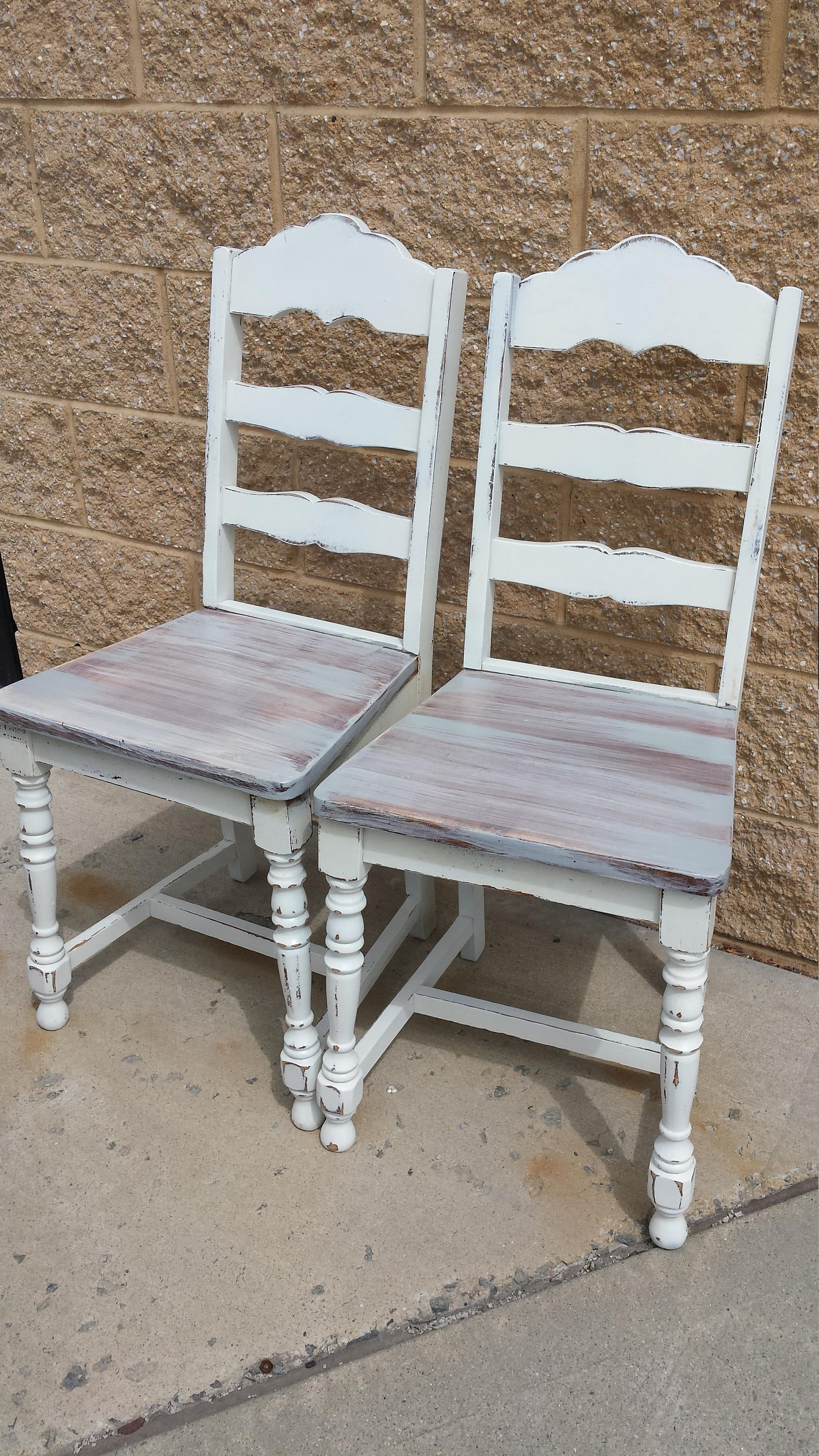 Vintage Shabby Distressed Chairs, Rustic Farmhouse, PICK UP ONLY, Country,  Cottage, Beach, France, Accent, Desk, Kitchen, Shabby Chic