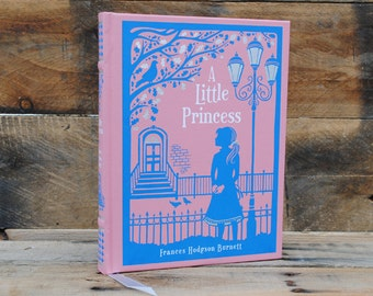 Book Safe - A Little Princess - Leather Bound Hollow Book Safe