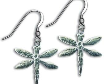 SS Dragonfly Earrings