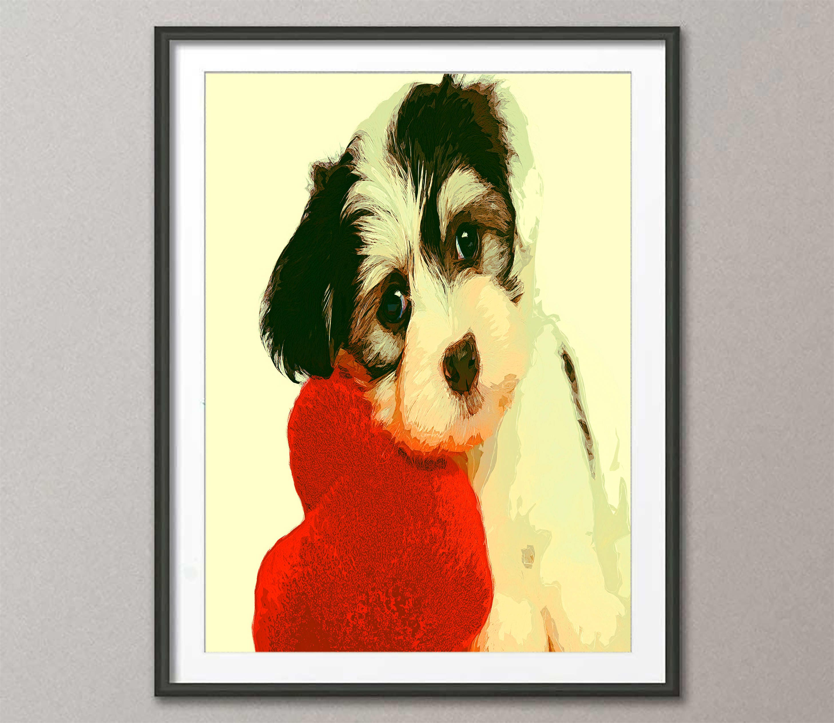 Fantastic Puppy Wall Art Frieze - Wall Art Collections ...