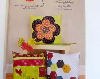 ModKid Pillow Trio Sewing Pattern Patty Young - New