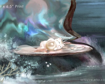 Pearl Baby - Art Print