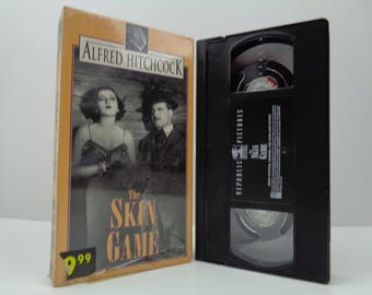 The Skin Game VHS Tape