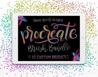 DND Lettering Procreate Brush Bundle