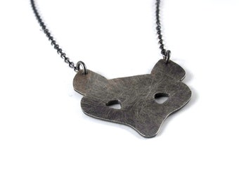 Silver Fox - Hand Cut Sterling Silver