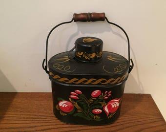 Antique 4 Piece Lunch Box