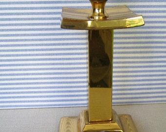 Vintage BRASS CANDLESTICK Candle Holder Candle Stick