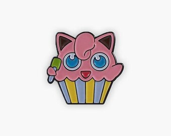 Jigglypuff Cupcake