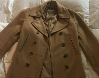 J.Crew double-breasted peacoat