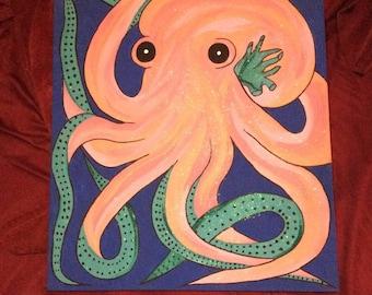 Original Octopus Painting