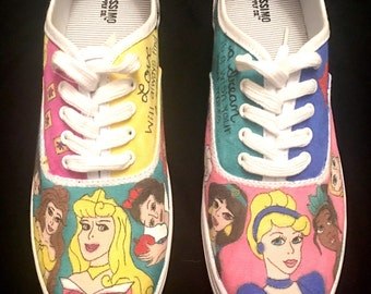 Disney Princess Custom Shoes