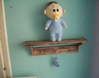 Wonderful Hand made baby/shelf/keyring