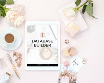 Database Builder Template, Real Estate Template, Real Estate Marketing
