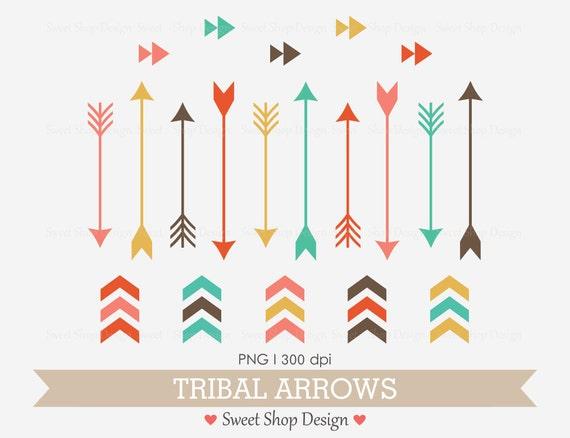 tribal arrow clip art navaho clip art royalty free clip art rh etsy com free clipart arrows pointing down free black and white clipart arrows