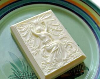 Art Deco Summer Soap - The Four Seasons - Art Nouveau Soap