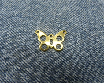 Butterfly metal - solid gold