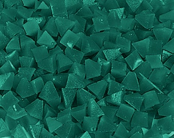 Plastic Pyramid Media Green Medium Cut 5 Lb Vibratory Tumbler Jewelry Polishing WA 255-240