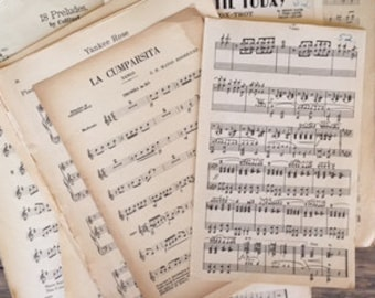 Vintage Orchestra Sheet Music