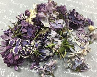 Freeze Dried Lilac Petals (SAMPLE or 5 cups) Mixed Petals, Flower Confetti, Wedding Decor