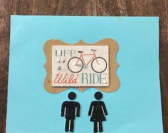 Wild Ride greeting card