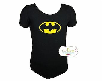Batman Leotard(Child) Short Sleeve Leotard