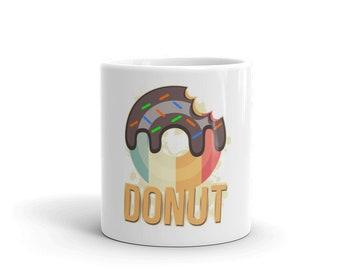 Donut Vintage Gift Mug