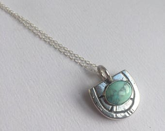 FRIDA Sterling Silver and Howlite Necklace