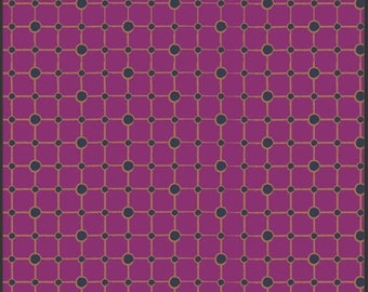 1/2 YARD Pat Bravo Indie Collection-Marqueterie Berry