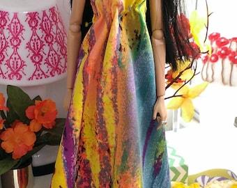 12 inch fashion doll dress