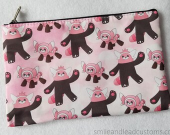Stufful and Bewear Zipper Pouch