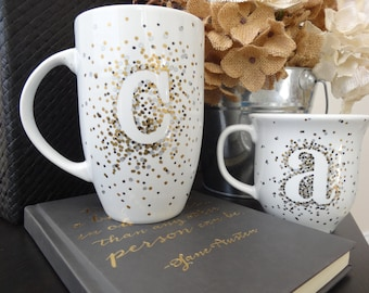 Motivational Monogram Mugs!!