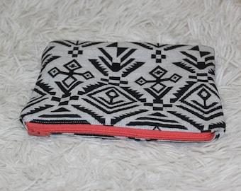 Zipper Pouch, Zipper Bag, Pencil Case, Gift Under 10, Travel Bag, Makeup Bag