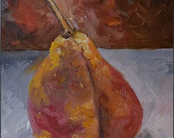 Another Pear - Painting a Day Series