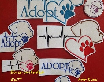Adopt a Pet (Four Sizes, 8 Designs Included)