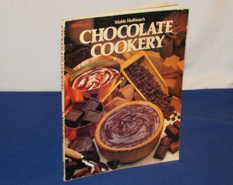 CHOCOLATE COOKERY 1978 HP Books Cookbook Cook Book