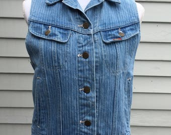 Ms. Lee denim vest